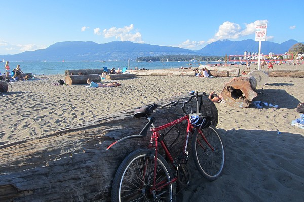 Bike Ride Stanley Park To Kits Beach