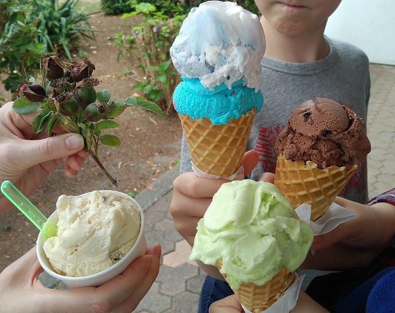 Crescent Beach 7 Ice Cream