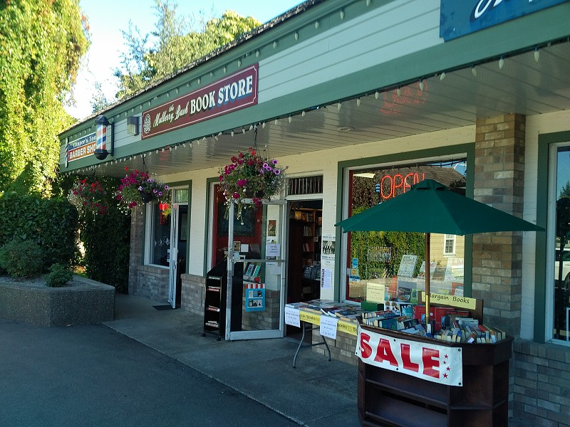 Mulberry Bush Bookstore Qualicum Beach